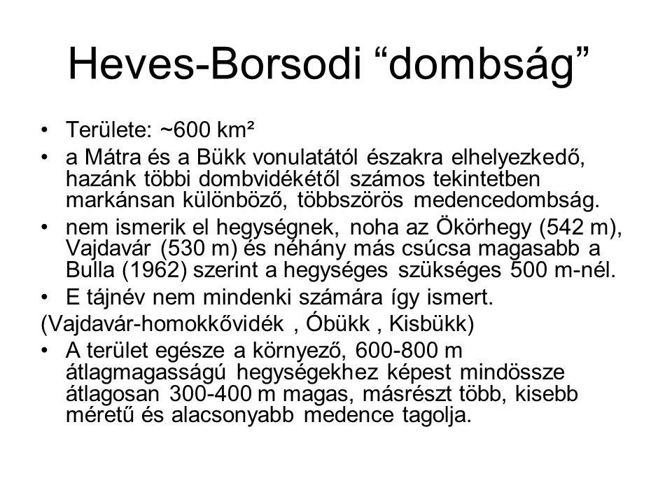 Heves-Borsodi dombság