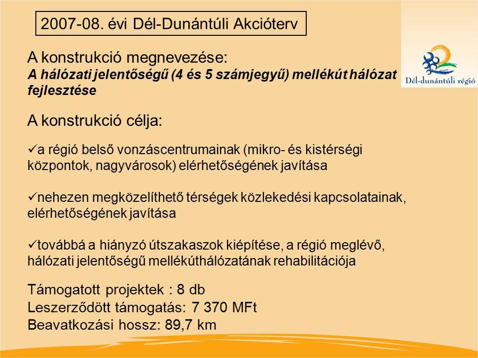 2007-08. évi Dél-Dunántúli Akcióterv