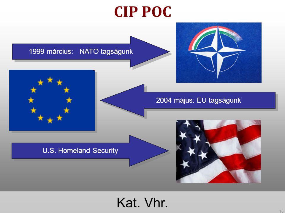 1999 március: NATO tagságunk