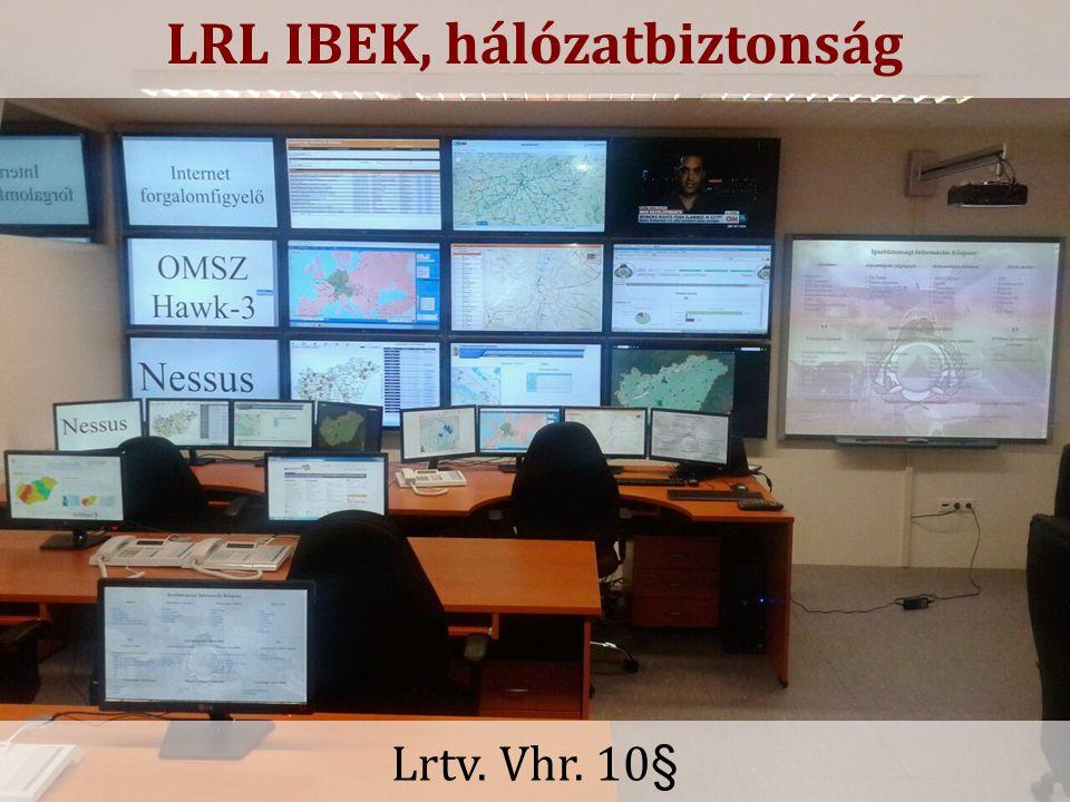 LRL IBEK, hálózatbiztonság