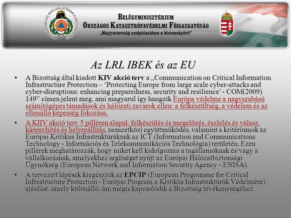 Az LRL IBEK és az EU