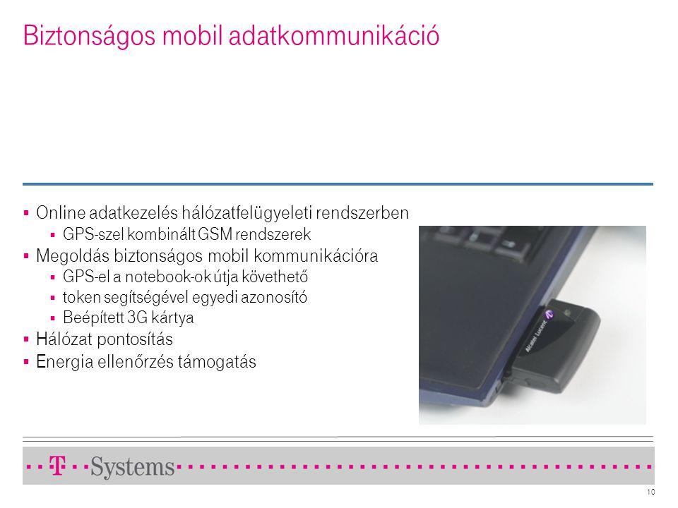 Biztonságos mobil adatkommunikáció