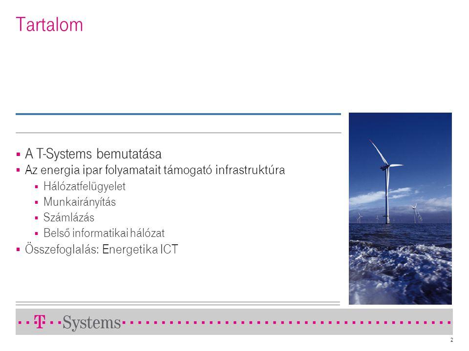 Tartalom A T-Systems bemutatása