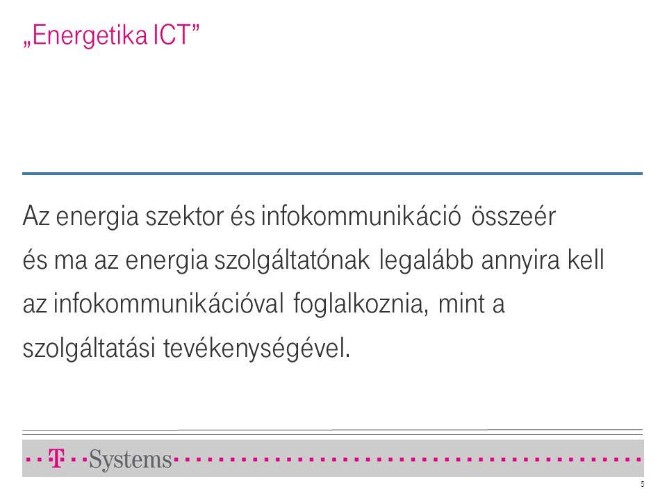 Az energia szektor és infokommunikáció összeér