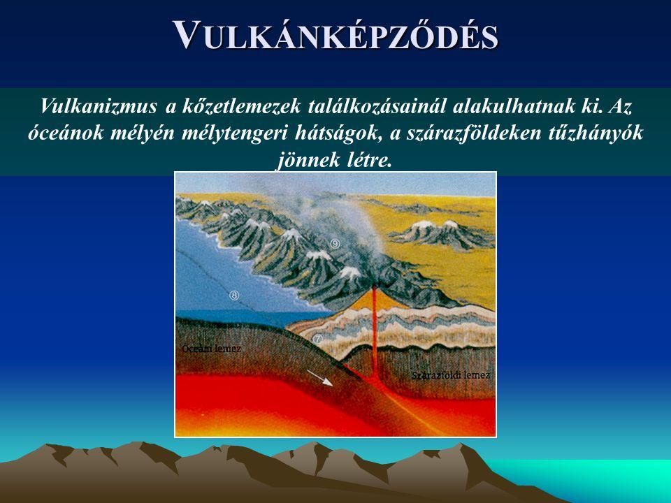 Vulkánképződés