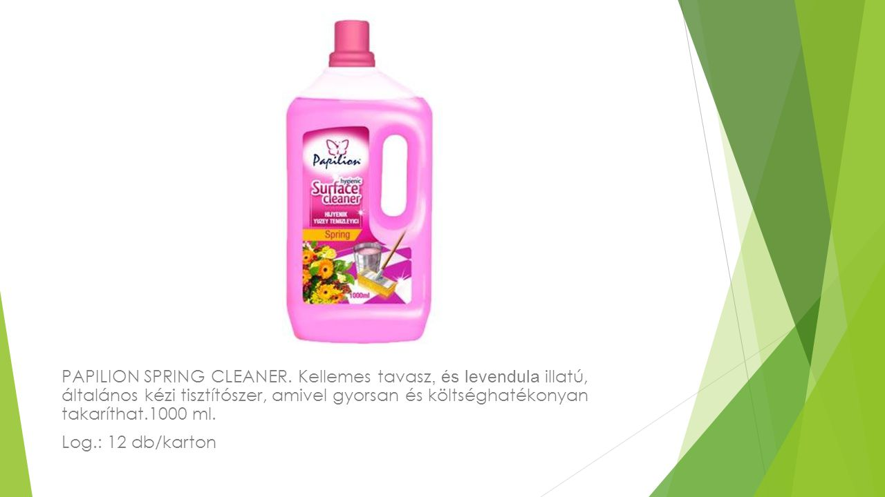 PAPILION SPRING CLEANER