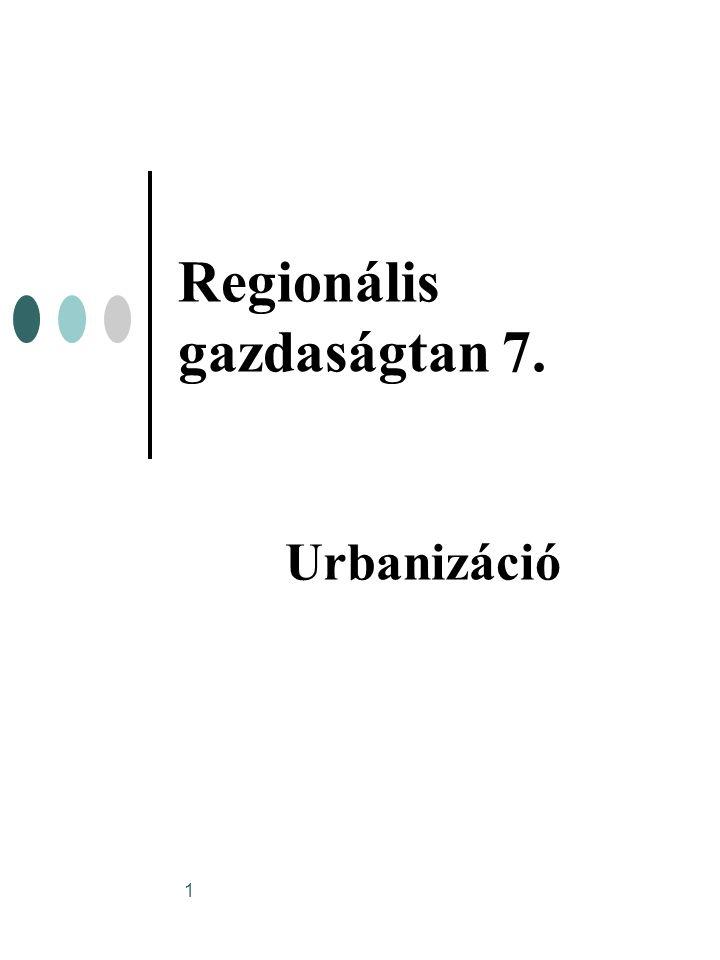 Regionális gazdaságtan 7.