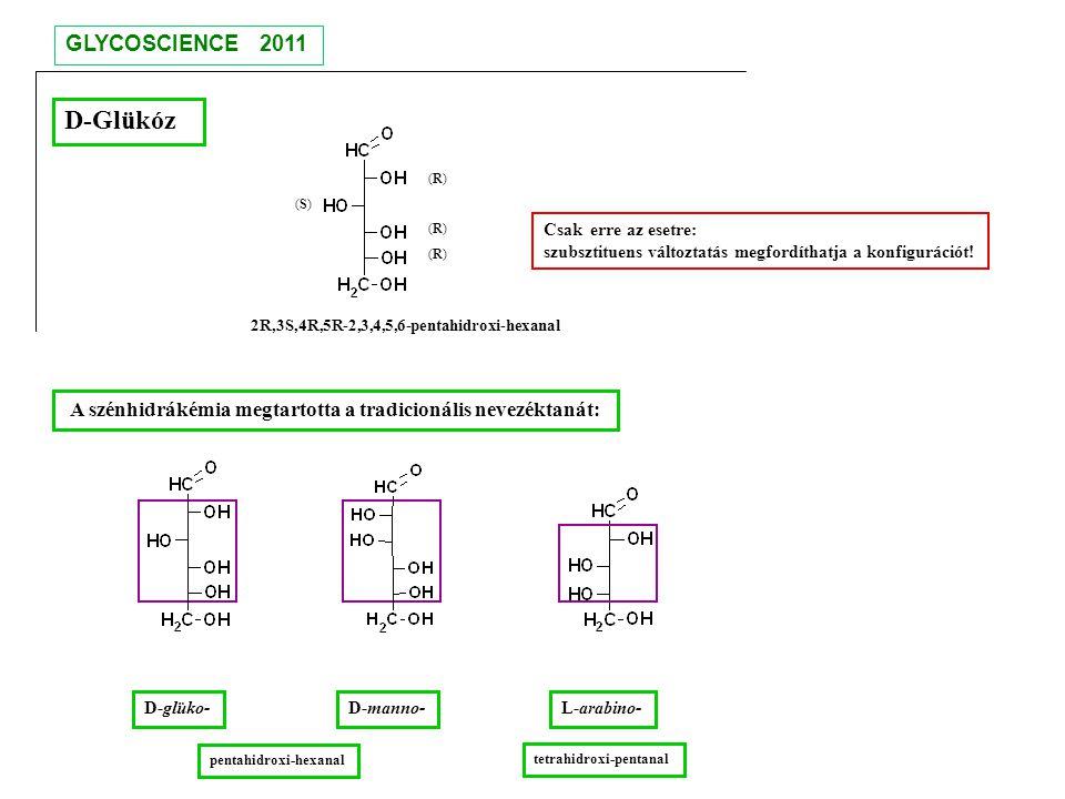 D-Glükóz GLYCOSCIENCE 2011