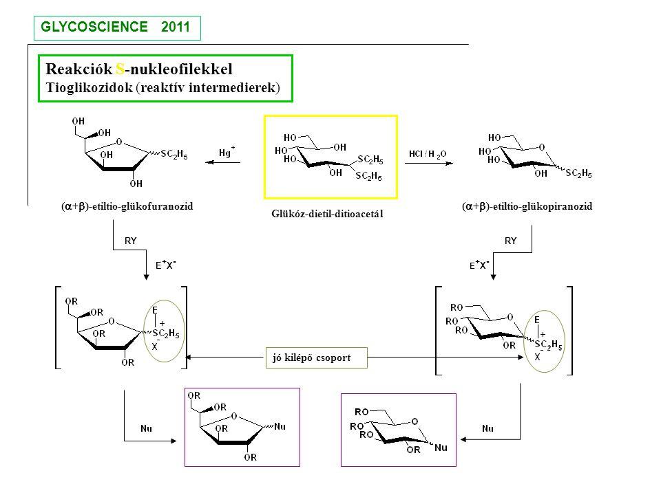 Reakciók S-nukleofilekkel