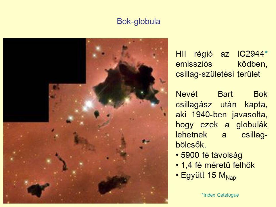 HII régió az IC2944* emissziós ködben, csillag-születési terület