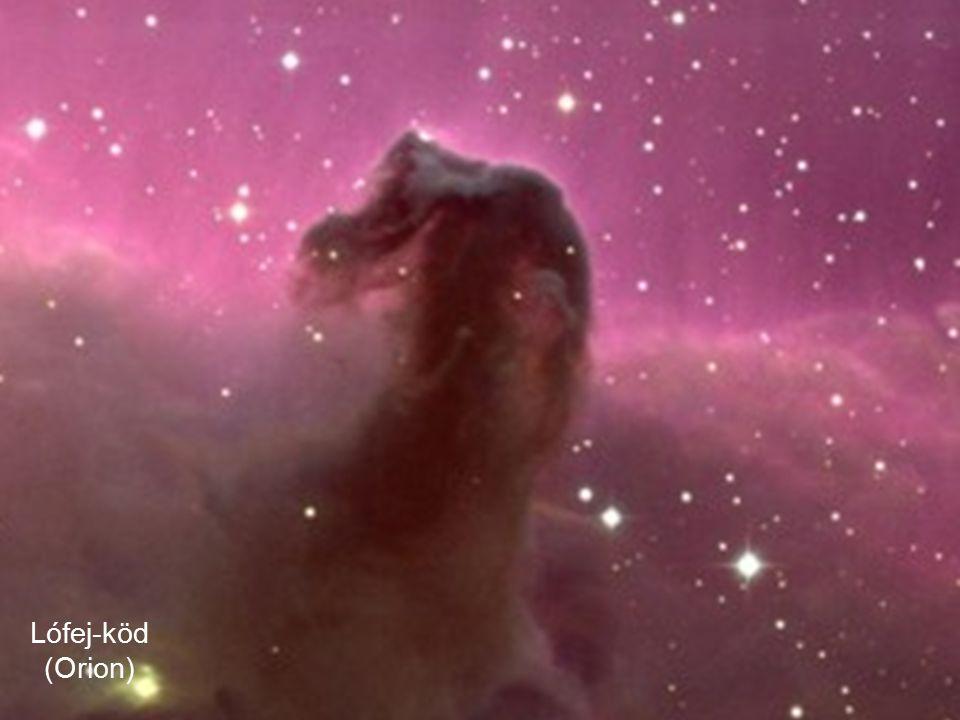 Sötét köd: Lófej köd Lófej-köd (Orion)