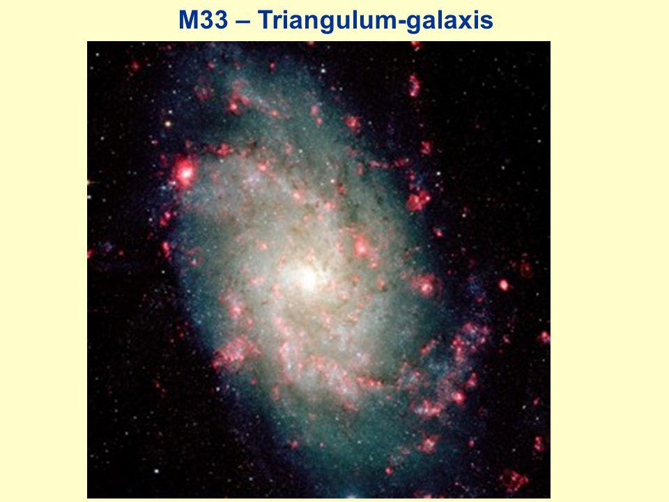 M33 – Triangulum-galaxis
