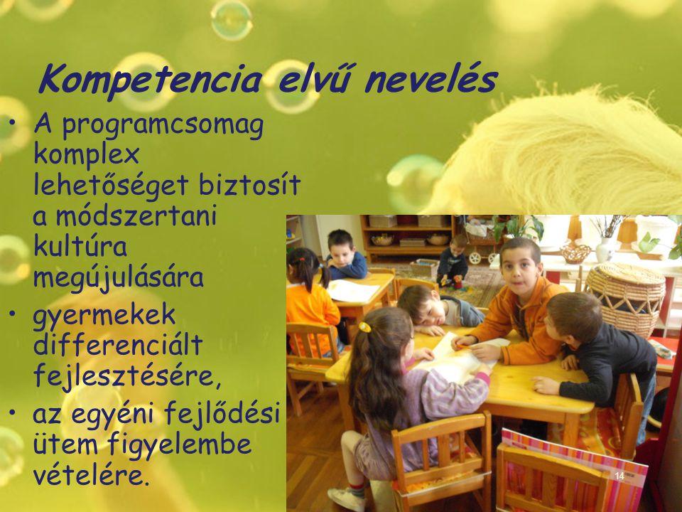 Kompetencia elvű nevelés