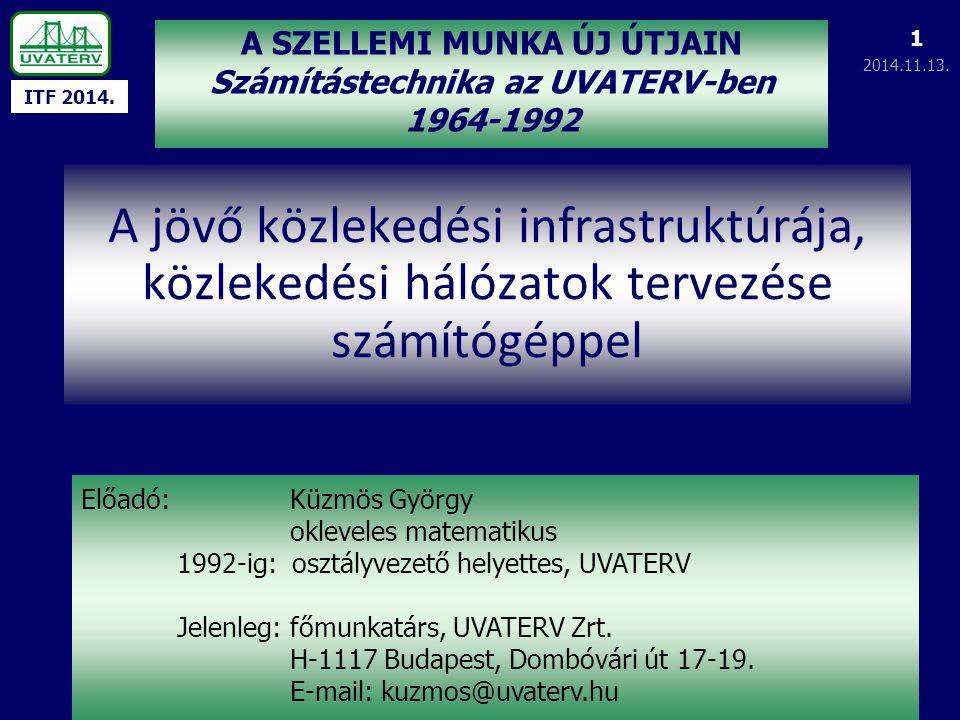 Számítástechnika az UVATERV-ben