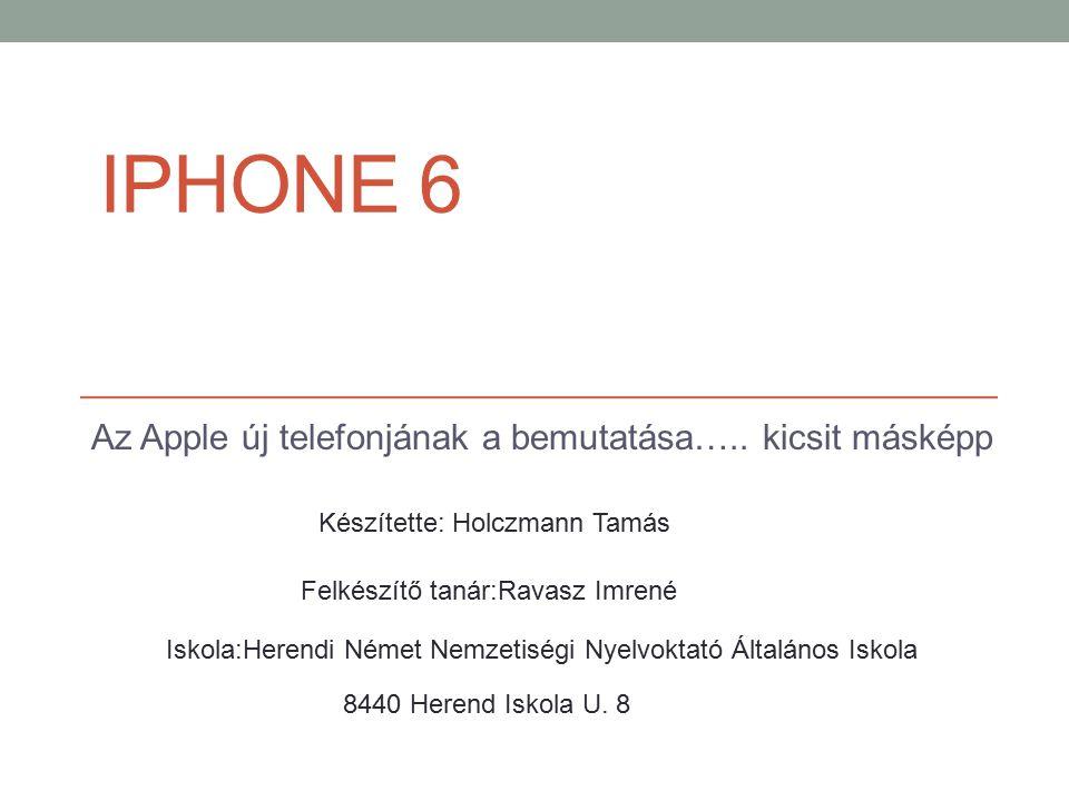 Az Apple új telefonjának a bemutatása….. kicsit másképp