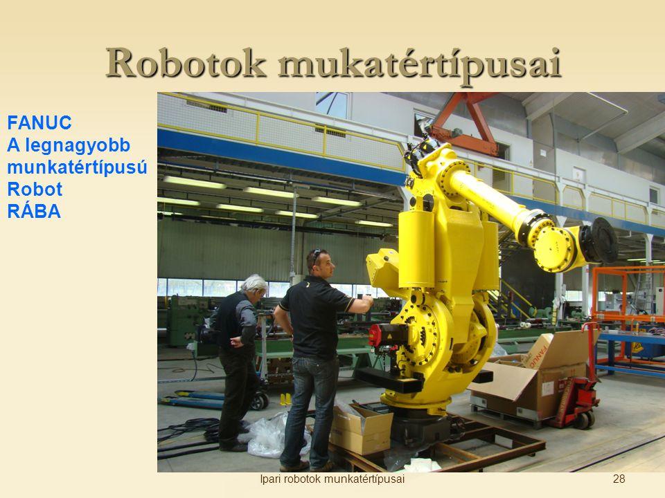 Robotok mukatértípusai