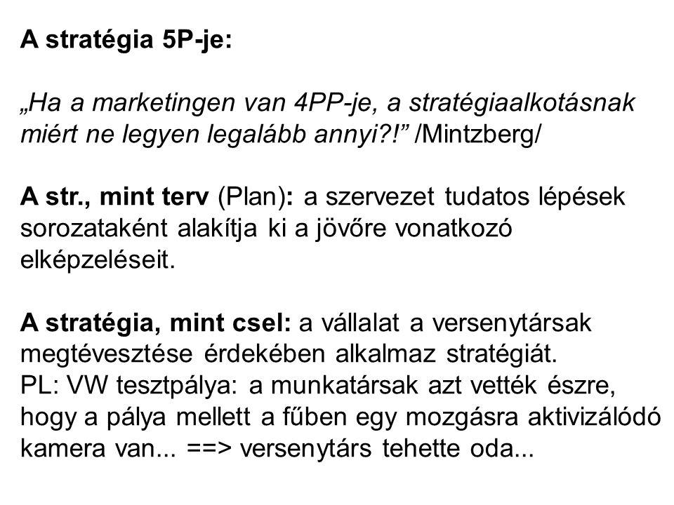 A stratégia 5P-je:
