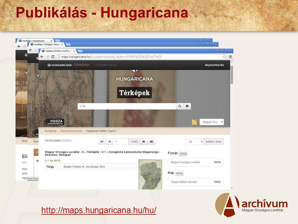 Publikálás - Hungaricana