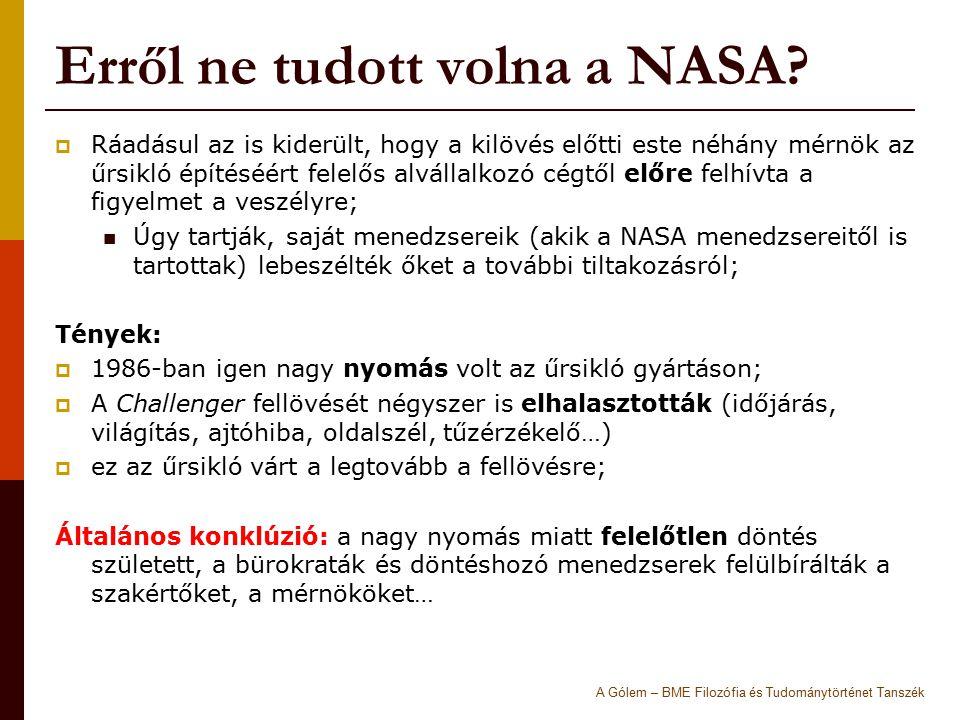Erről ne tudott volna a NASA