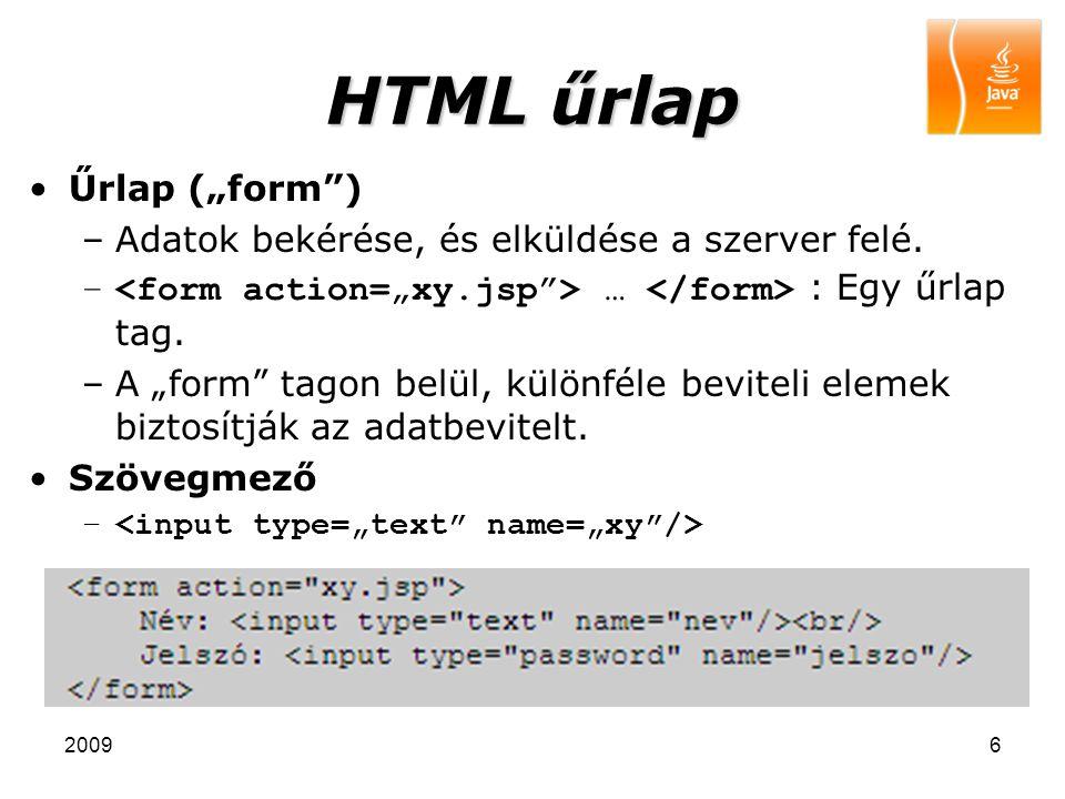 "HTML űrlap Űrlap (""form )"