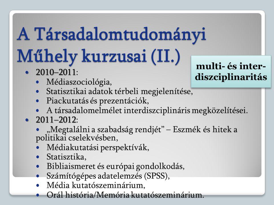 multi- és inter-diszciplinaritás