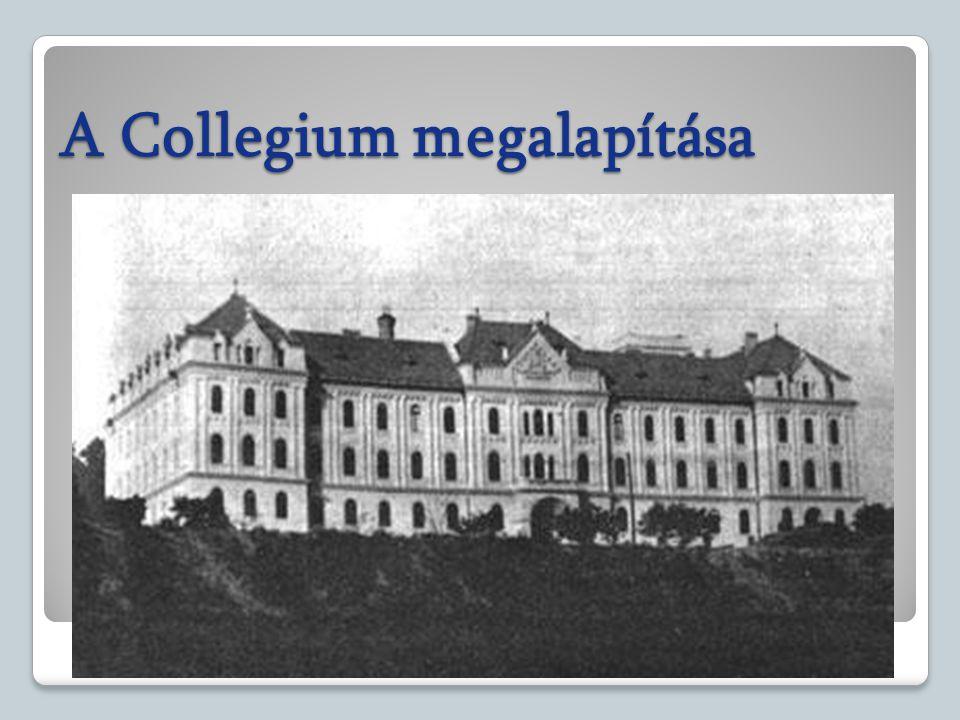 A Collegium megalapítása