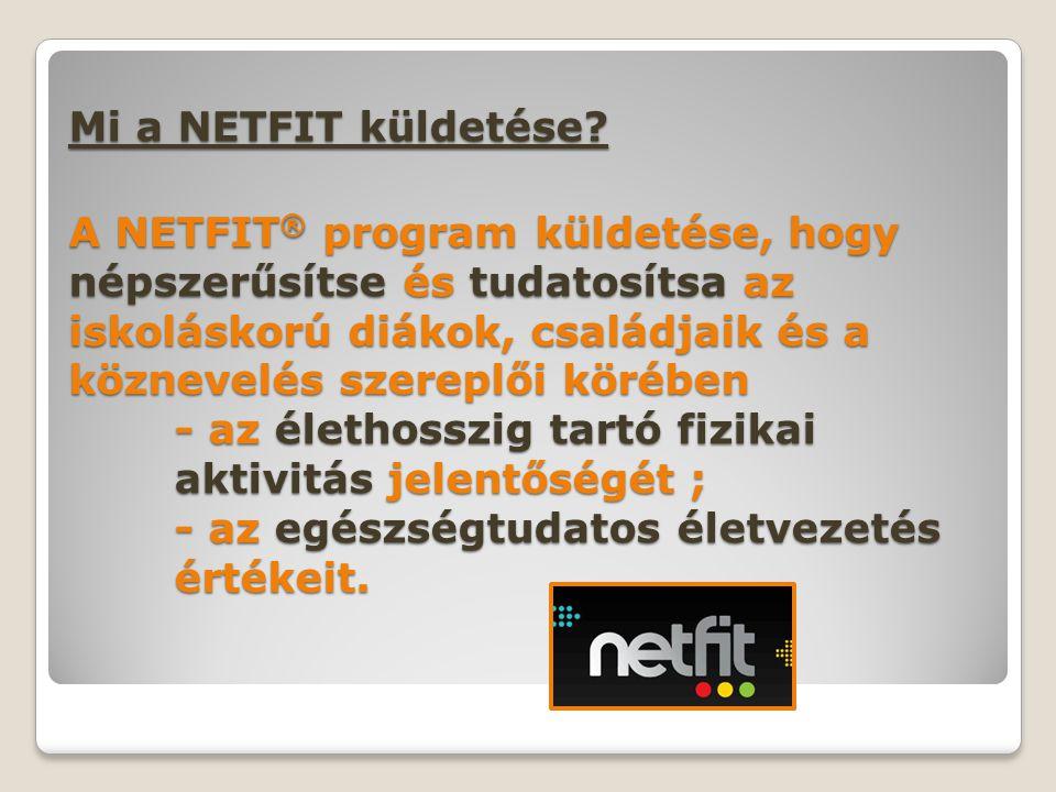 Mi a NETFIT küldetése.