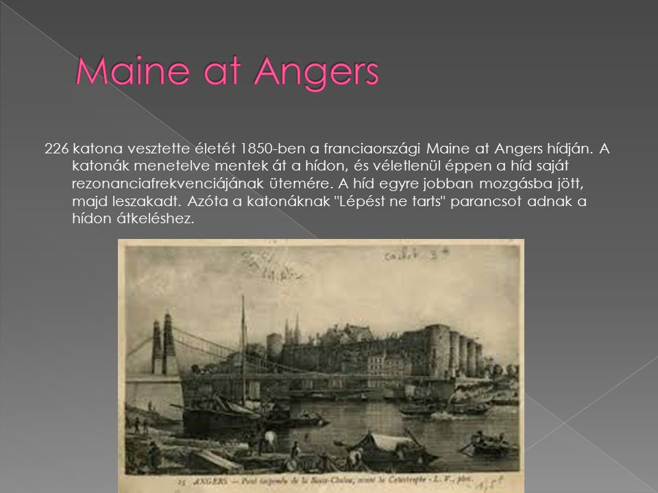 Maine at Angers
