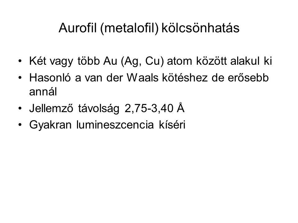 Aurofil (metalofil) kölcsönhatás