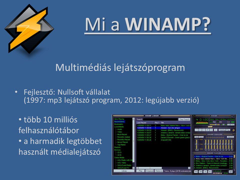 Multimédiás lejátszóprogram