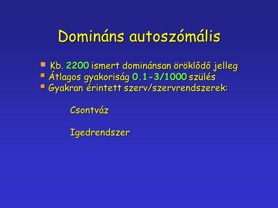 Domináns autoszómális