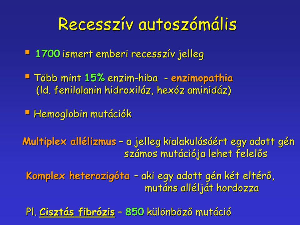 Recesszív autoszómális