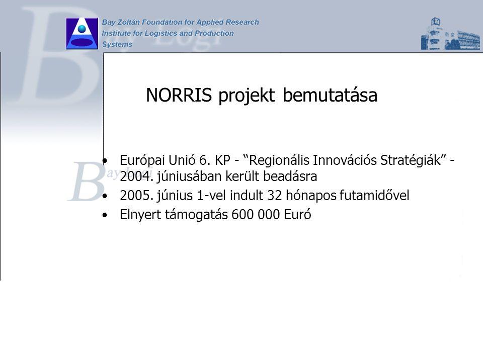 NORRIS projekt bemutatása