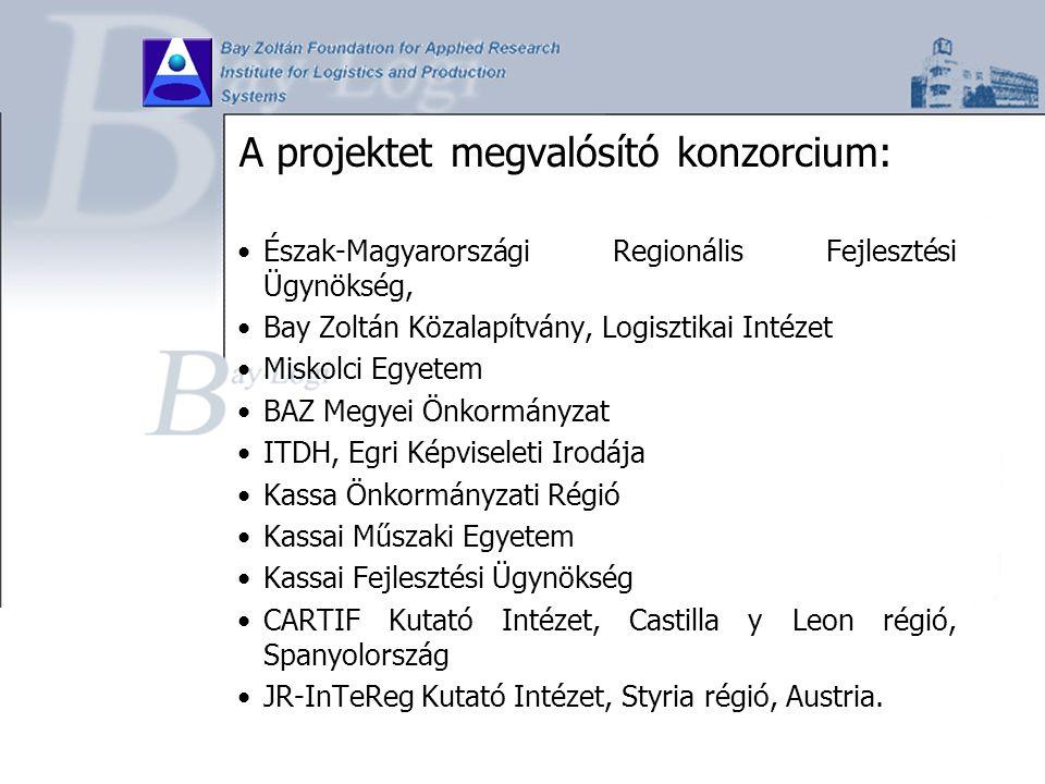A projektet megvalósító konzorcium: