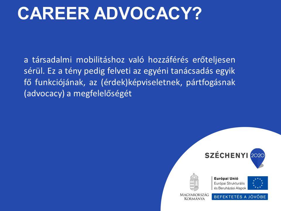 Career advocacy