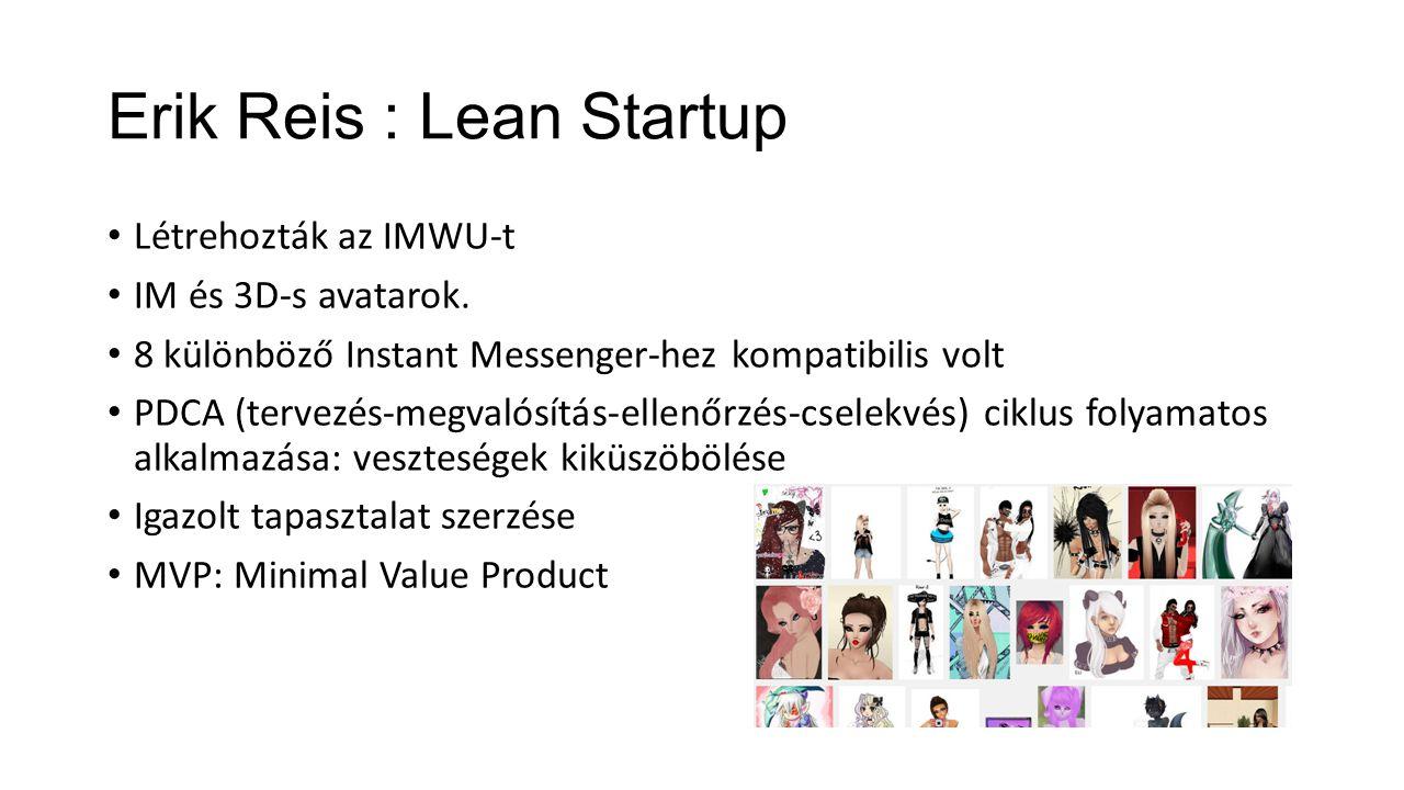 Erik Reis : Lean Startup
