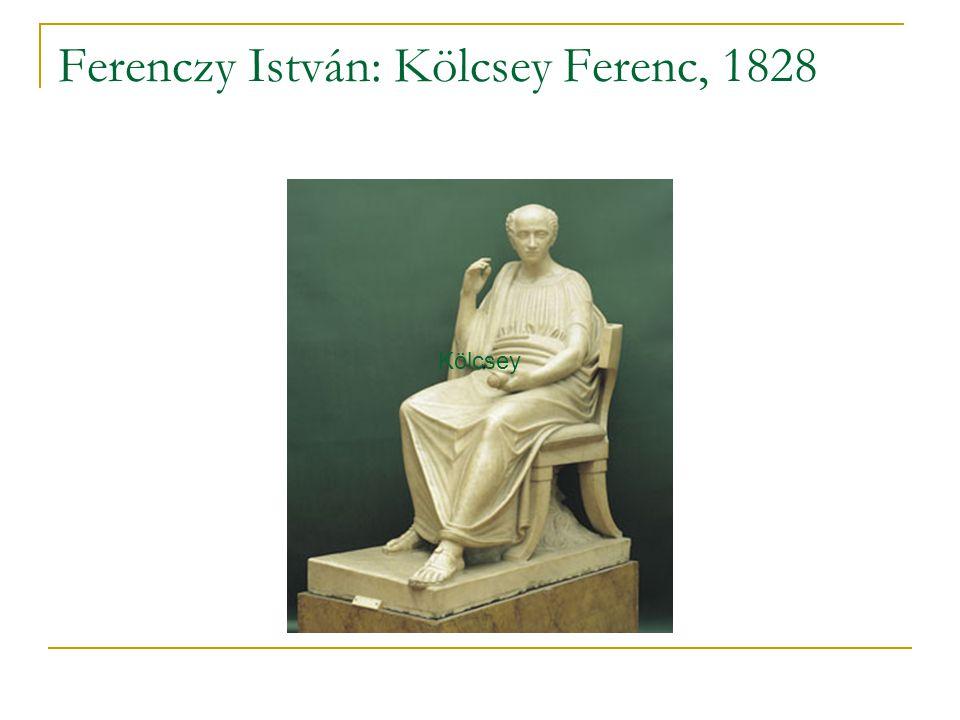 Ferenczy István: Kölcsey Ferenc, 1828