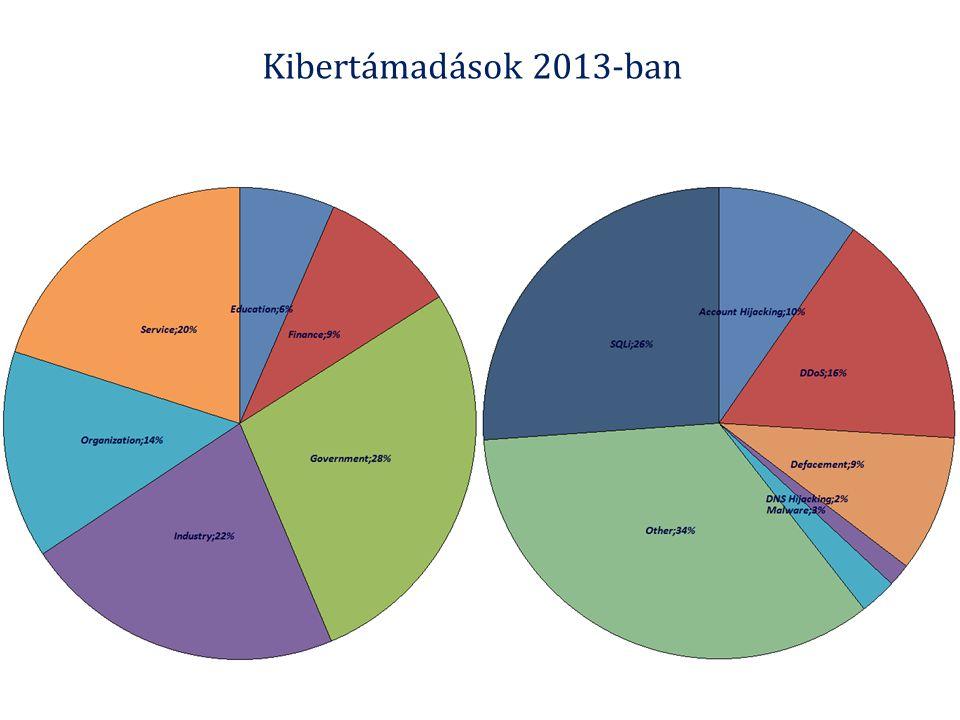 Kibertámadások 2013-ban