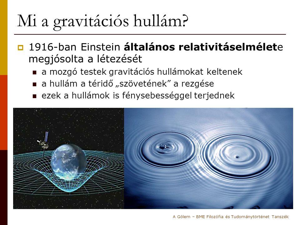 Mi a gravitációs hullám