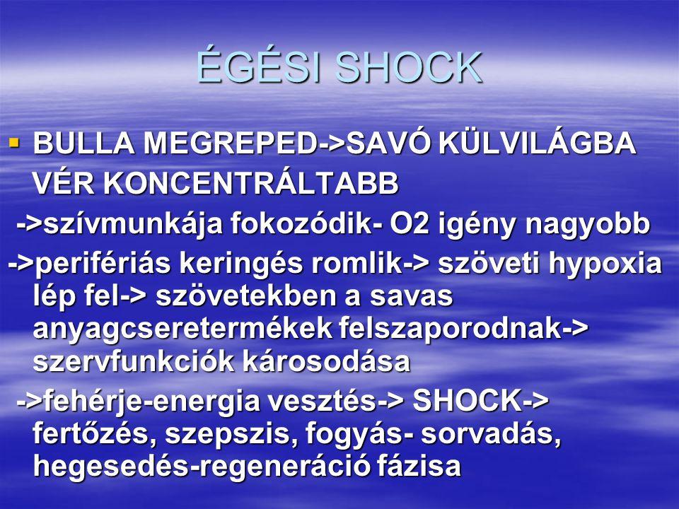 ÉGÉSI SHOCK BULLA MEGREPED->SAVÓ KÜLVILÁGBA VÉR KONCENTRÁLTABB