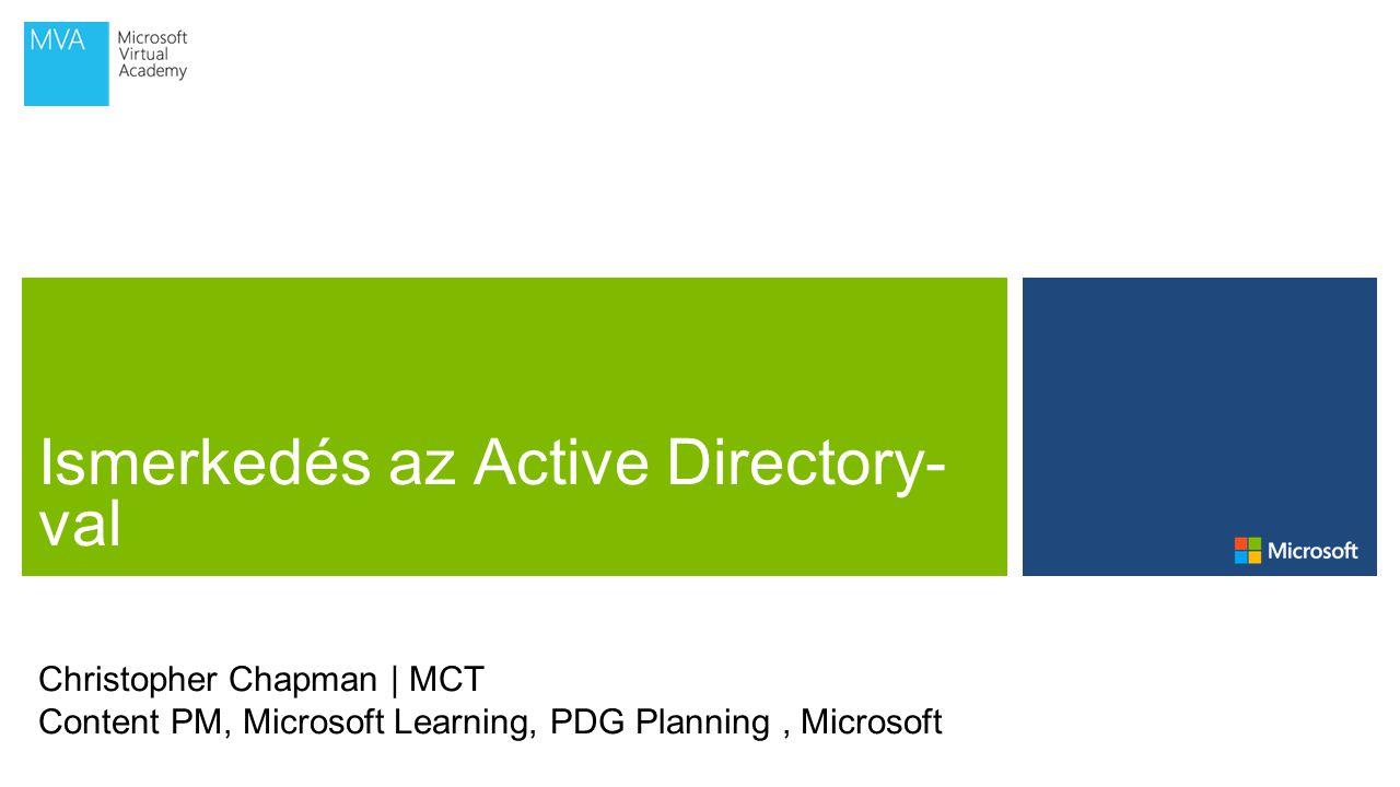 Ismerkedés az Active Directory-val