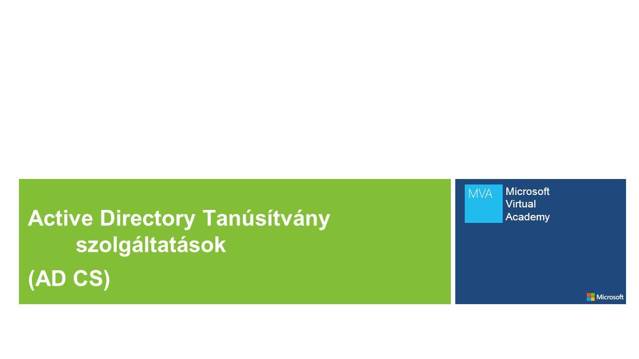 Active Directory Tanúsítvány szolgáltatások