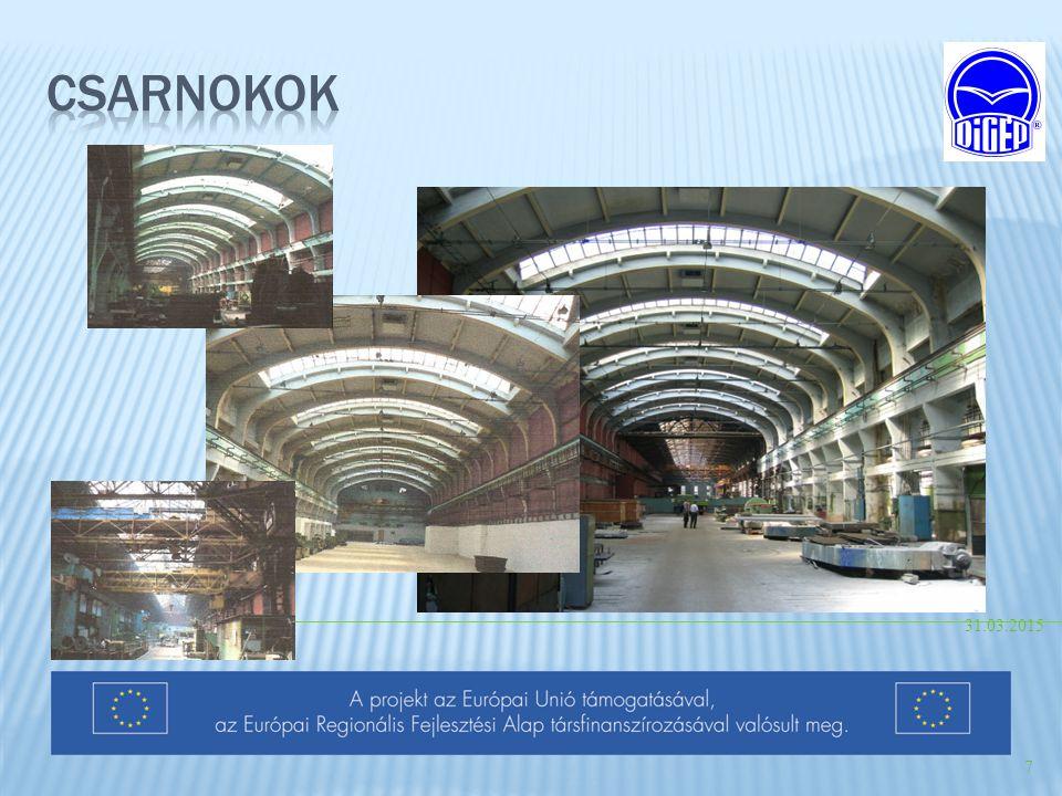 Csarnokok 09.04.2017