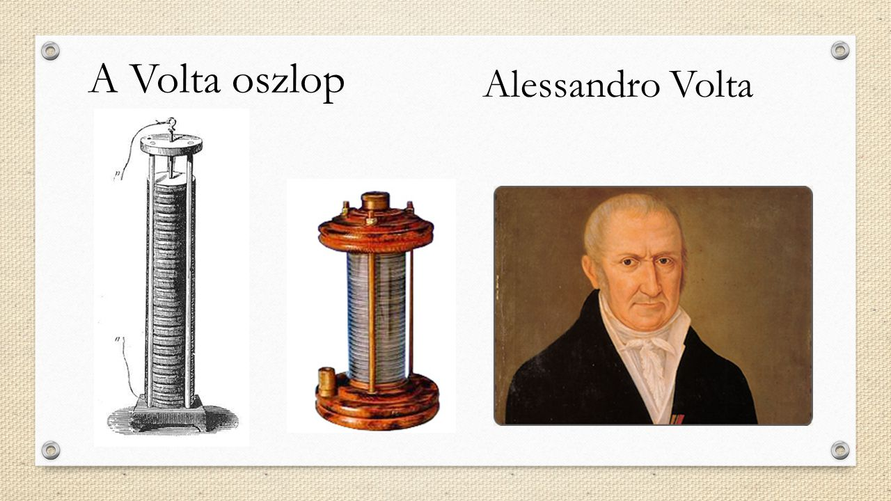 A Volta oszlop Alessandro Volta
