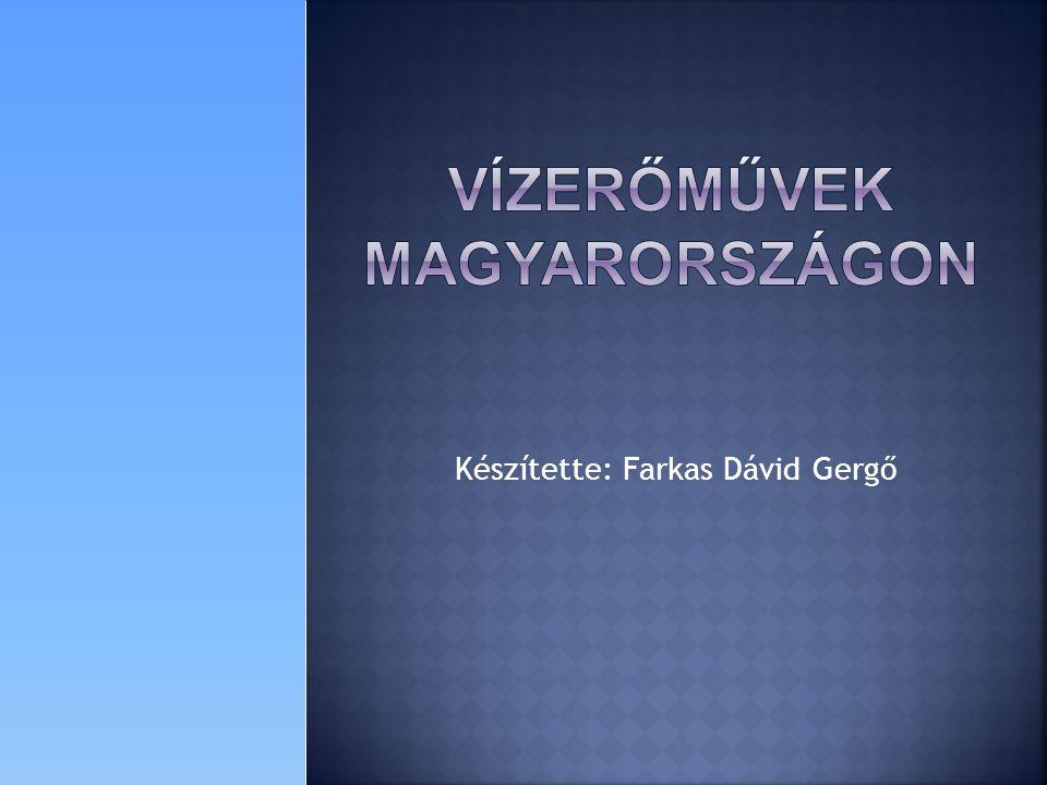 Vízerőművek Magyarországon