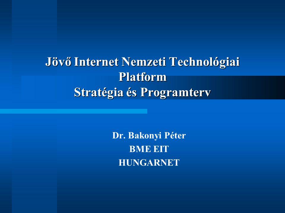 Jövő Internet Nemzeti Technológiai Platform Stratégia és Programterv