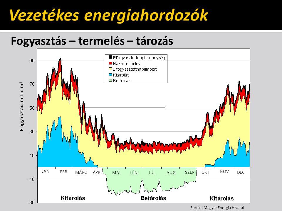 Vezetékes energiahordozók