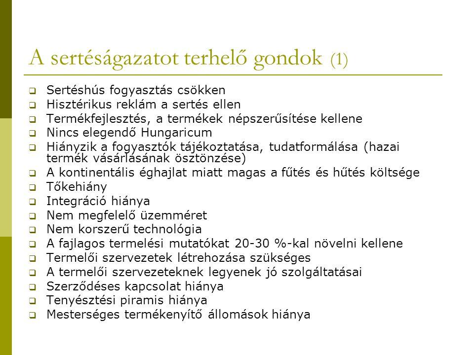 A sertéságazatot terhelő gondok (1)