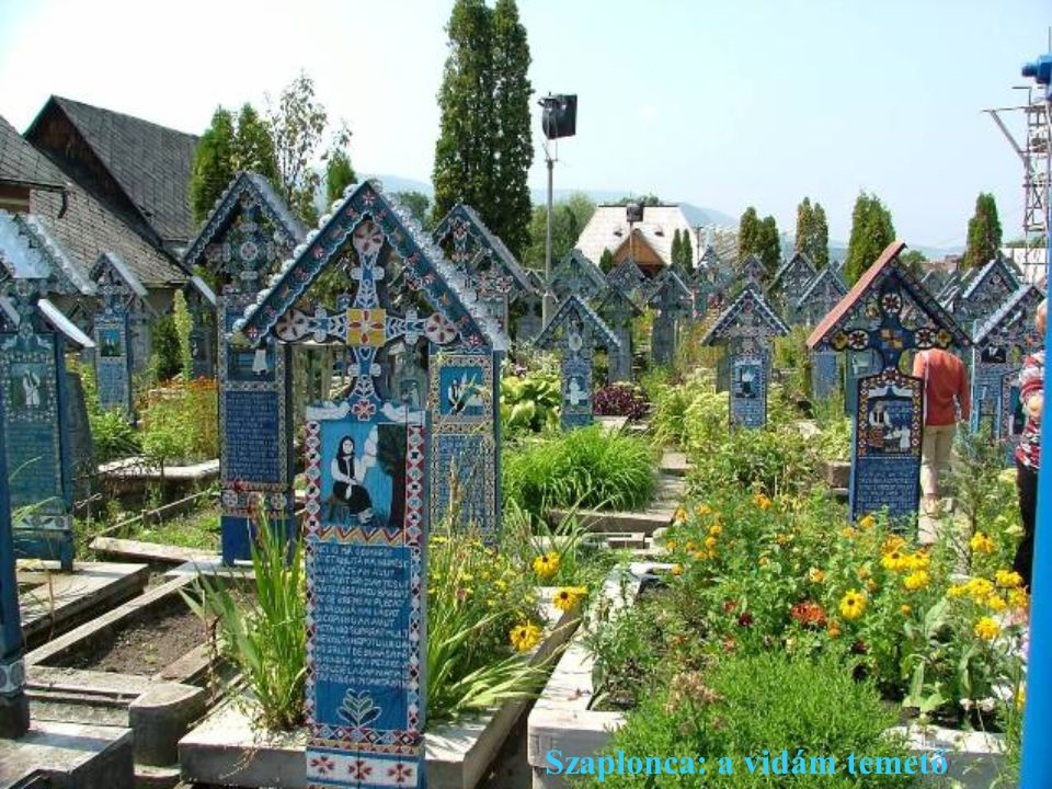 Szaplonca: a vidám temető