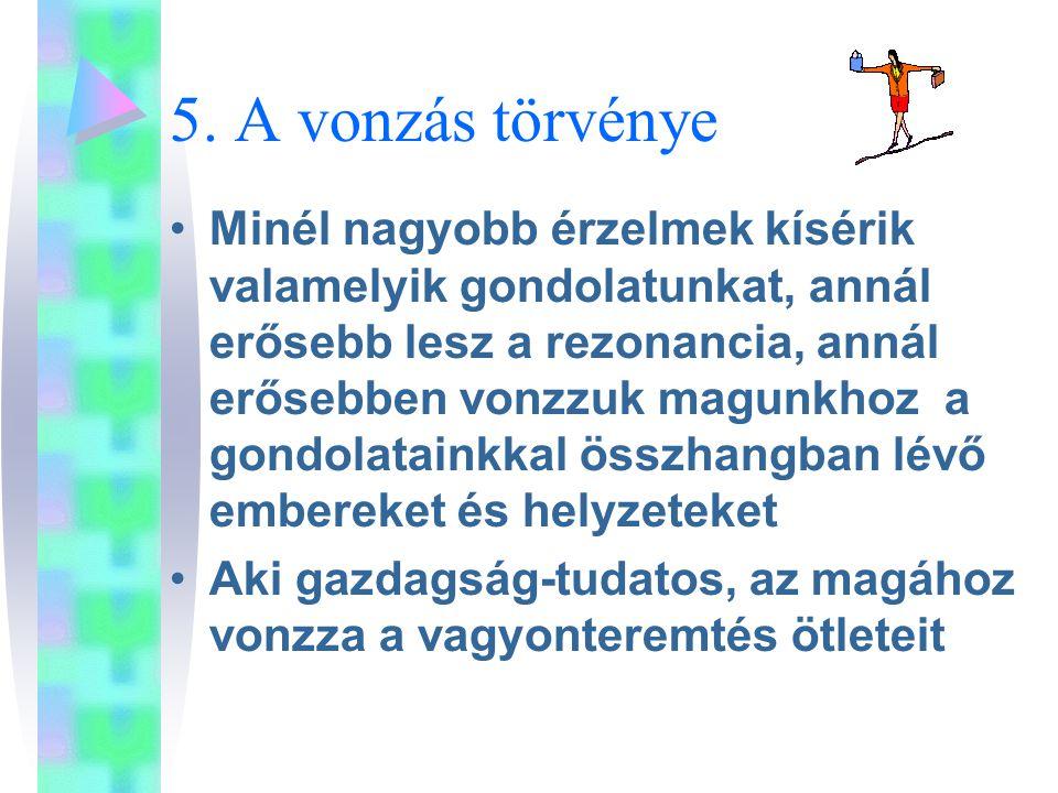 5. A vonzás törvénye
